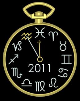 2011 Aquarius Clock