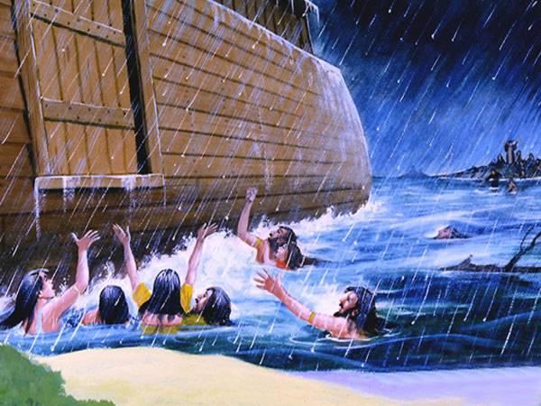 Does the Great Flood story bear false witness against God?